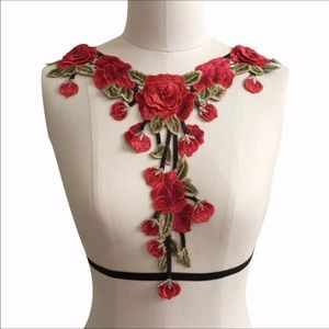 Accessories - 🌹HANDMADE EMBROIDERED BRALETTE HARNESS🌹